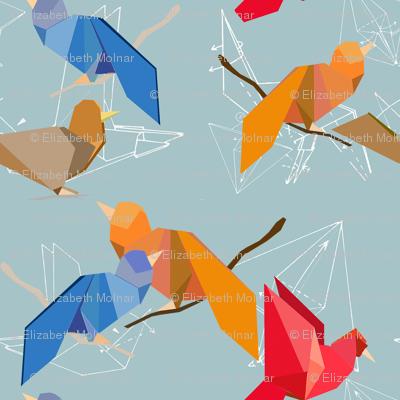 Origami Birds 4*