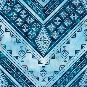Jirra chevron light blue
