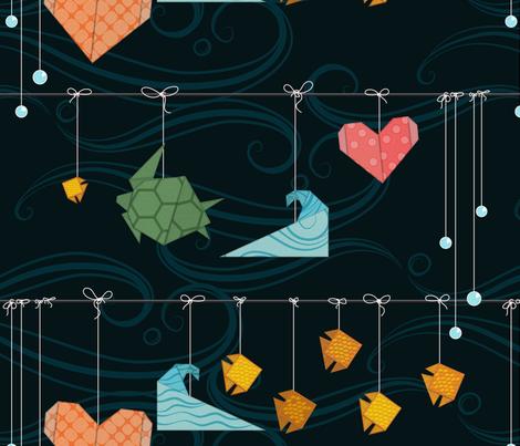 Sea Life Mobile fabric by yourfriendamy on Spoonflower - custom fabric