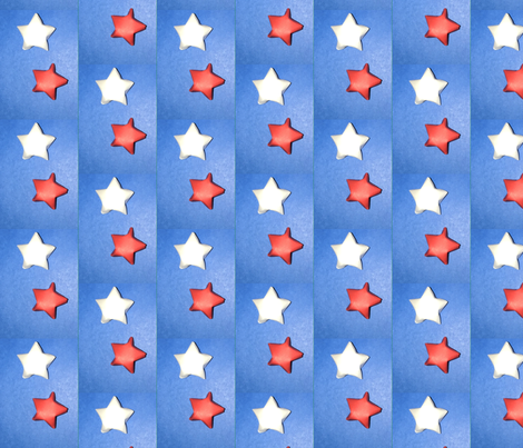 Paper stars fabric by alexo on Spoonflower - custom fabric
