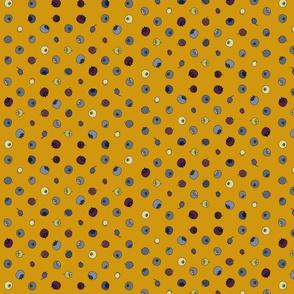 Blueberry Polka grid honey