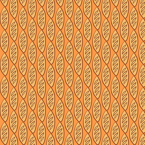 Tiny Baguette fabric by jadegordon on Spoonflower - custom fabric