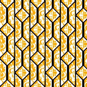 High Contrast Yellow Tile 2