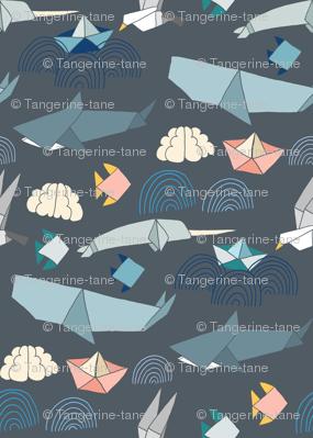 Marine Origami Pattern