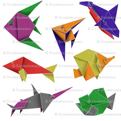 Origami Fish Contest Entry
