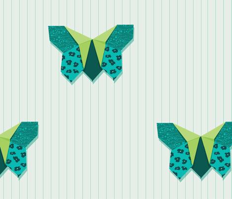 Butterfly Folds fabric by jillcookdesigns on Spoonflower - custom fabric