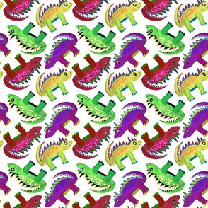 Dinosaurs (Red, Yellow, Green)