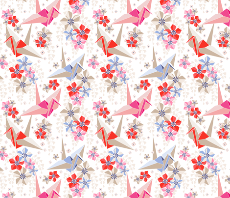 Origami fabric by theboutiquestudio on Spoonflower - custom fabric