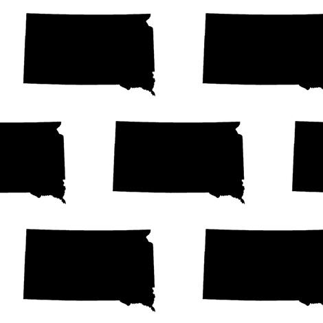 South Dakota // Large fabric by thinlinetextiles on Spoonflower - custom fabric