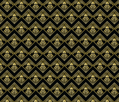 Roaring 20's fabric by patternsbypip on Spoonflower - custom fabric