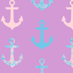 Marble Anchor (Violet)