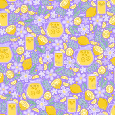Afternoon Lavender Lemonade