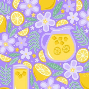 Afternoon Lavender Lemonade
