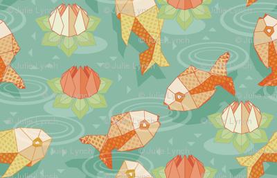 origami gold fish