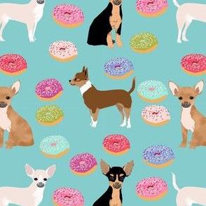 chihuahua donuts sweet treat dog breed fabric lite