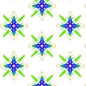 Sparkling Spring Star Lattice