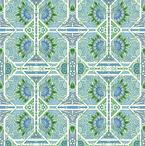 Of Spring I Sing  fabric by edsel2084 on Spoonflower - custom fabric