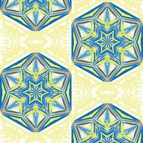 Gleaming Hexagon Stars