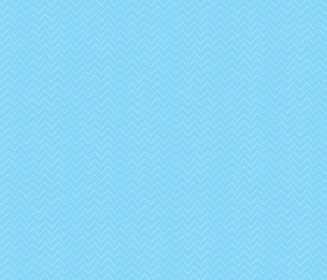 Blue Hand Drawn Chevron fabric by snapdragonandfinn on Spoonflower - custom fabric
