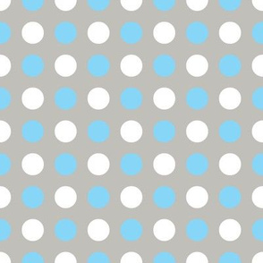 Gray Multi Dot