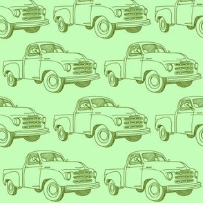 Nifty Fifties Green 1951 Studebaker Truck