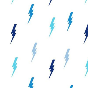 bolts in blue