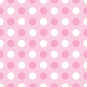 Pink Tonal Polka Dot