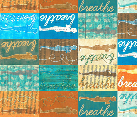 Breathe fabric by lisathorpe on Spoonflower - custom fabric