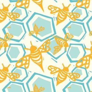 Bee + Honeycomb Cream