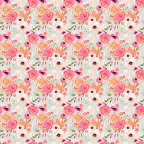 Indy Bloom Design Blush Florals blue MINI