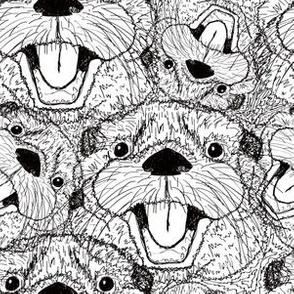 Happy Otter Scribbles
