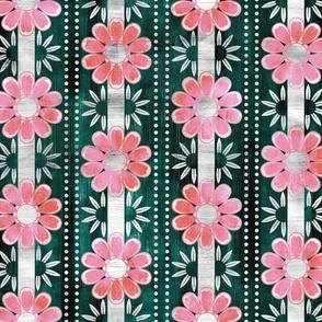 bali bali flower  dark green