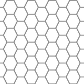 Mei's Gray Honeycomb