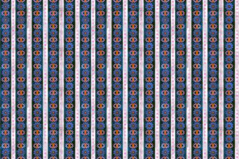 Bali Bali stripe blue fabric by schatzibrown on Spoonflower - custom fabric