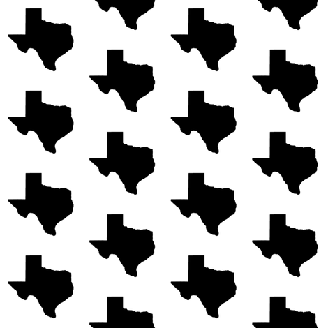 Texas // Small fabric by thinlinetextiles on Spoonflower - custom fabric