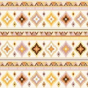mustard and sand kilim - small