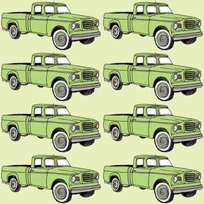 1960's Studebaker Champ pick up truck green