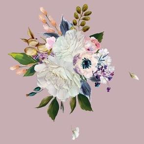 """8"""" Spring Bouquet - Mauve"""