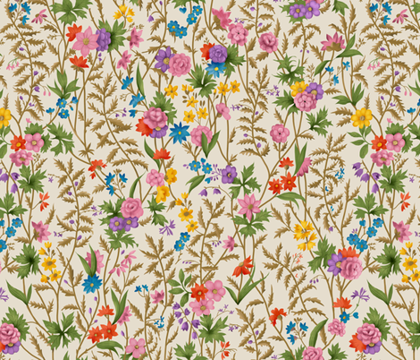 WilliamKilburnspring fabric by gaiamarfurt on Spoonflower - custom fabric