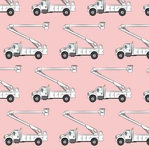 bucket trucks - rose