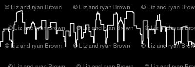 Chicago, IL Outline // Black
