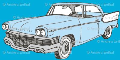 Nifty Fifties 1957 Studebaker 2 door hardtop