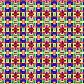 Toy Block Pattern in Miniature