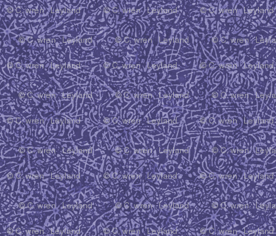 Batik violet purple