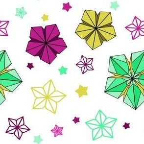 Origami Flowers 1