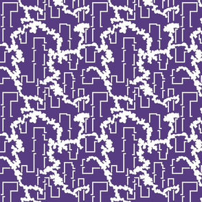 1900 Serpentine and links-lilac