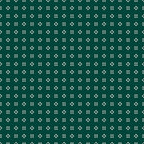 1900 Small dots-green