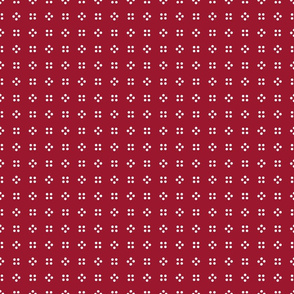 1900 Small dots-red