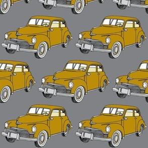 1946 Studebaker golden tan on gray