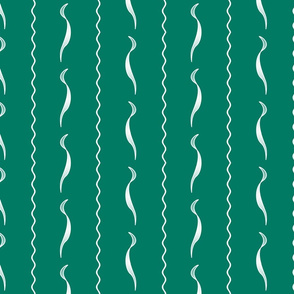 1900 Waves-green